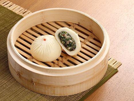 素-鼎泰豐香菇素包(5入)的圖片