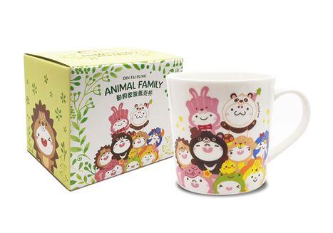 馬克杯(動物家族)的圖片
