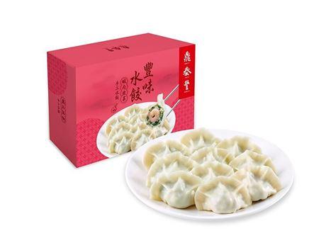 蝦肉韭菜水餃(20入)的圖片